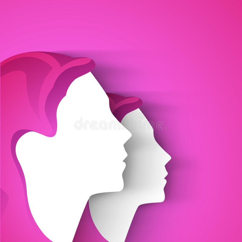 Happy Women S Day Greeting Card Royalty Free Stock Image