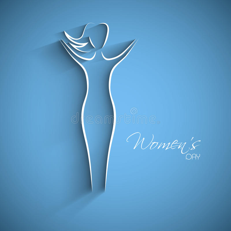 Happy Women S Day Greeting Card Royalty Free Stock Photography