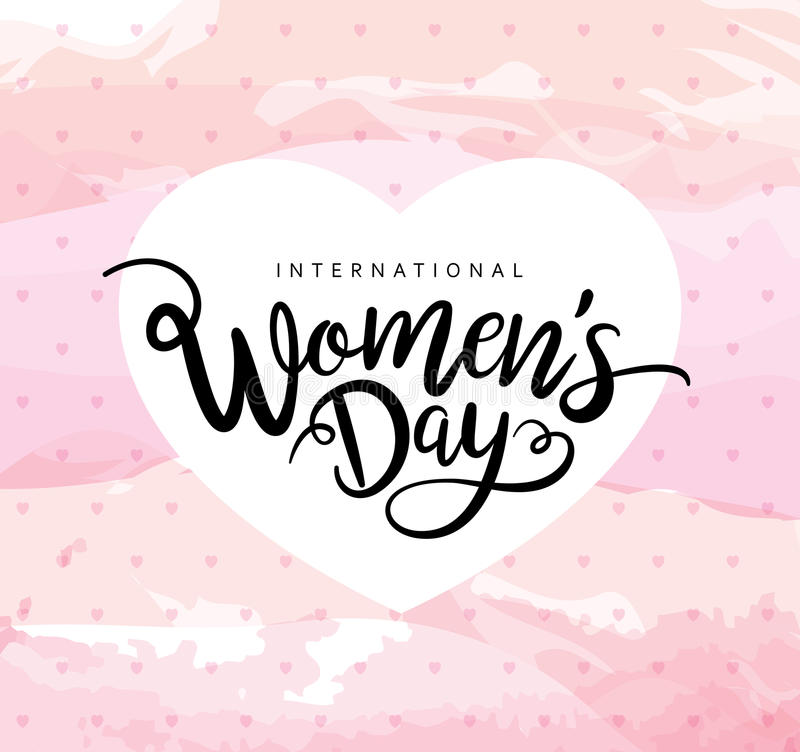 Happy Women`s Day royalty free stock image