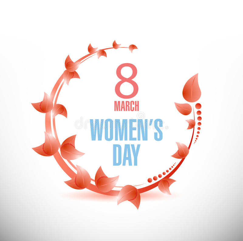 Happy Womens Day celebrations concept. Illustration design over a white background vector illustration