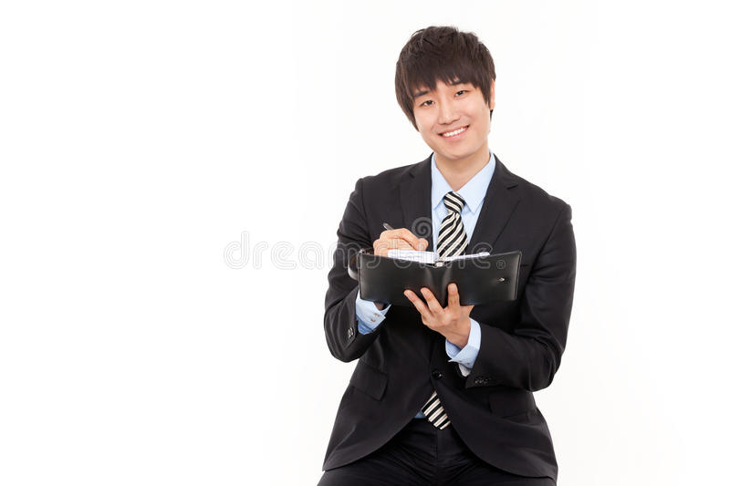 Download Happy Young Asian Business Man Stock Photos - Image: 24838463
