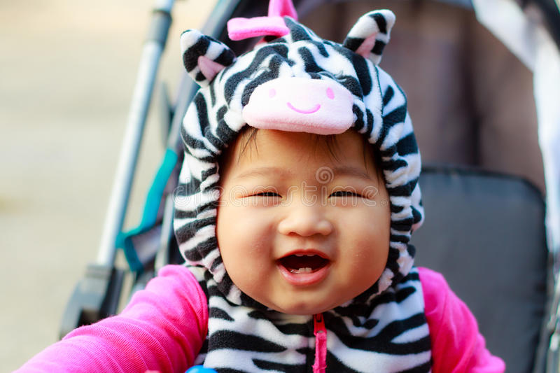 Happy Young Baby Royalty Free Stock Image