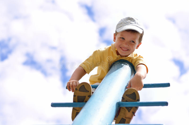 Download Happy young climber stock image. Image of childhood, person - 26116695