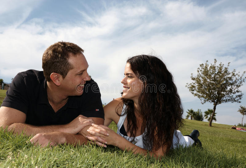 Download Happy young couple stock image. Image of casual, freedom - 17642695