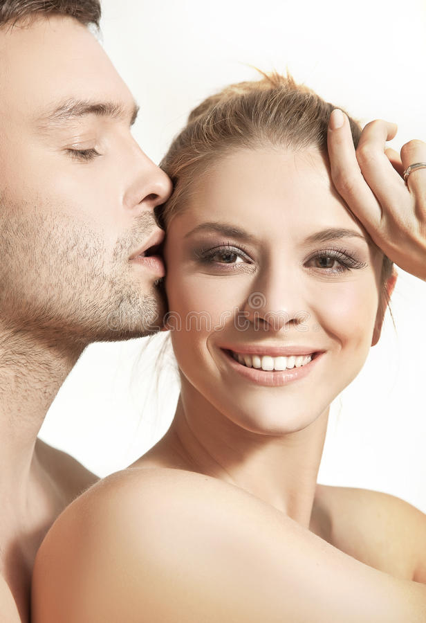 Download Happy young couple stock photo. Image of face, charming - 18241924