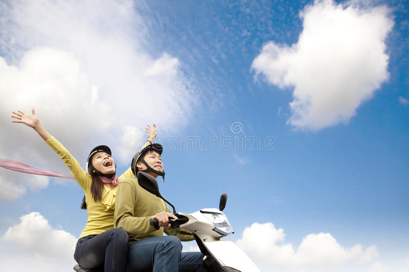 Download Happy young couple stock photo. Image of portrait, girl - 22456068