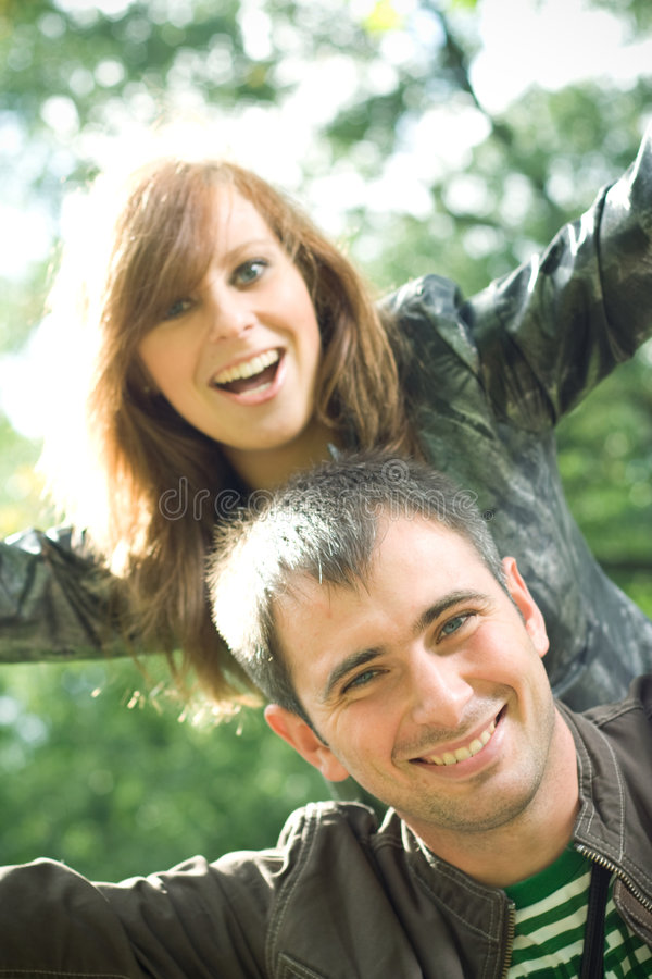 Free Happy Young Couple. Royalty Free Stock Photo - 6240465