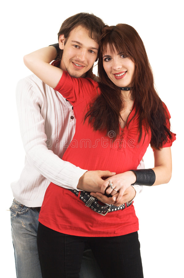 Download Happy young couple stock photo. Image of isolated, person - 9203650
