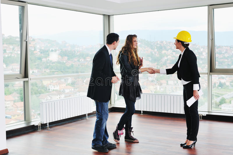 Download Happy Young Couple Buying New Home Royalty Free Stock Photo - Image: 11334295