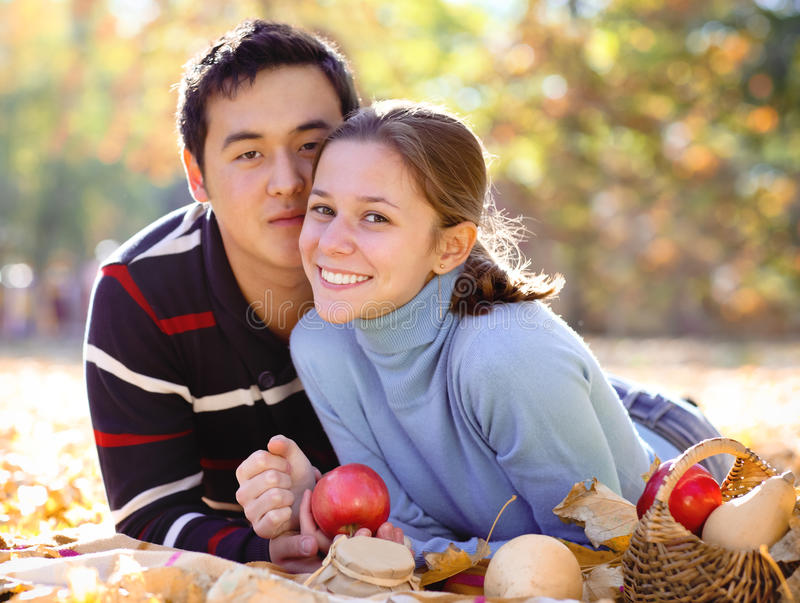 Download Happy young couple in love stock photo. Image of caucasian - 28148670