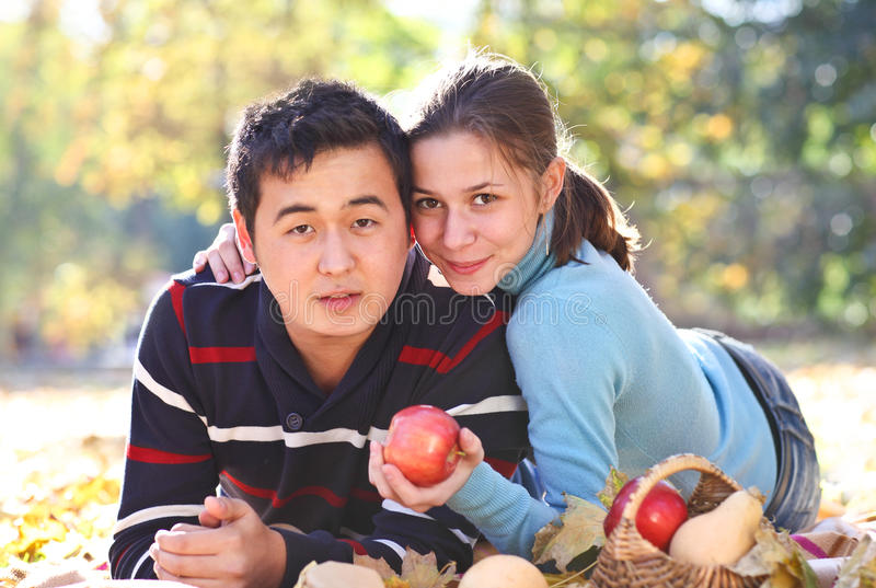 Download Happy young couple in love stock photo. Image of female - 28148708