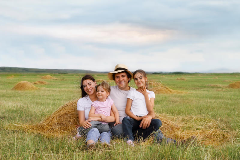 Download Happy young family stock image. Image of enjoy, family - 19926283