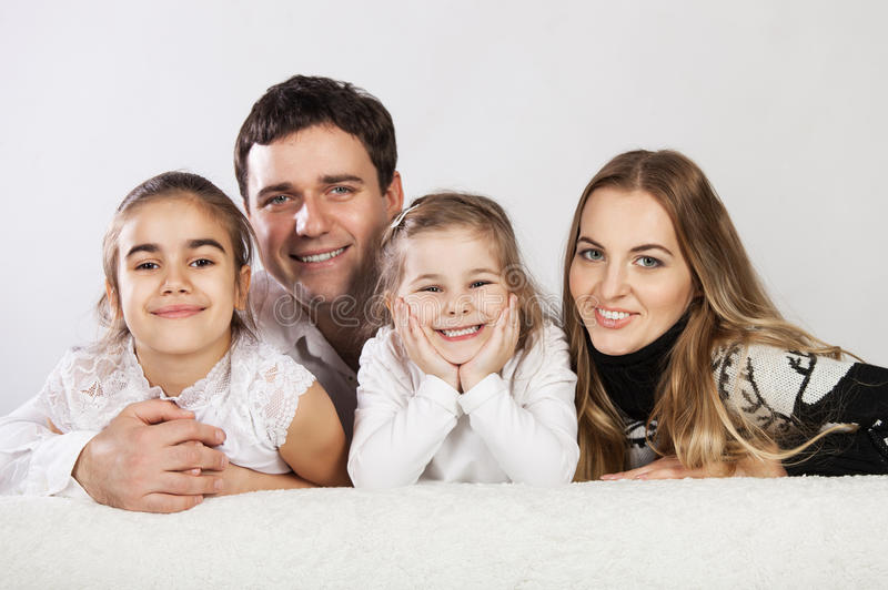 Download Happy young family stock photo. Image of female, morning - 26757562