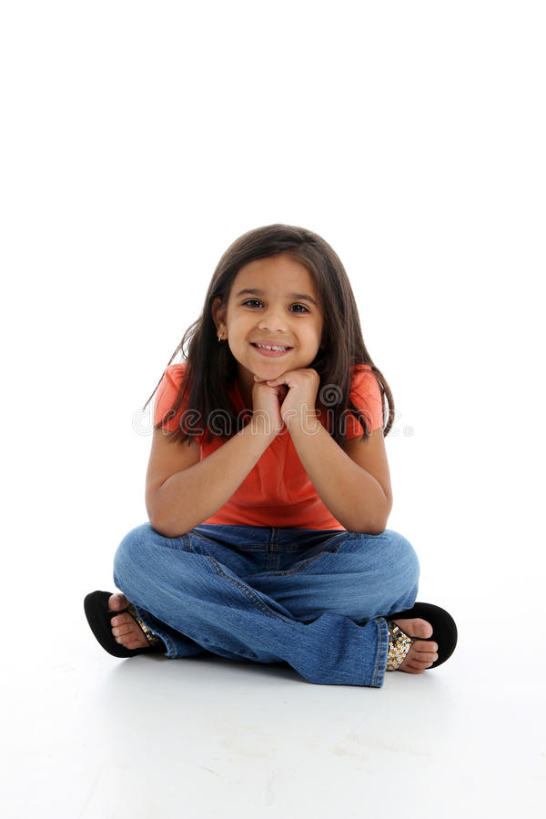 Happy Young Girl stock photos