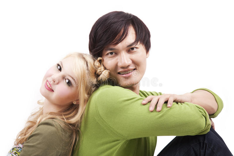 Download Happy young mixed couple stock image. Image of asian - 23138569