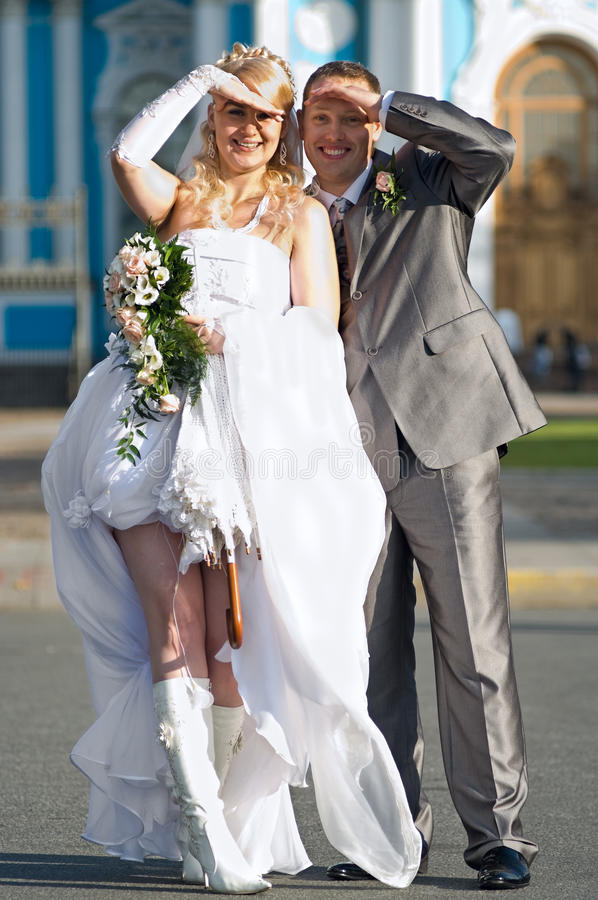 Download Happy Young Newlywed Couple Royalty Free Stock Photo - Image: 11937715