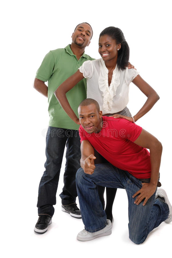 Happy Young People Stock Photo