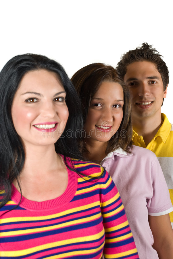Download Happy young people friends stock image. Image of happiness - 9341145