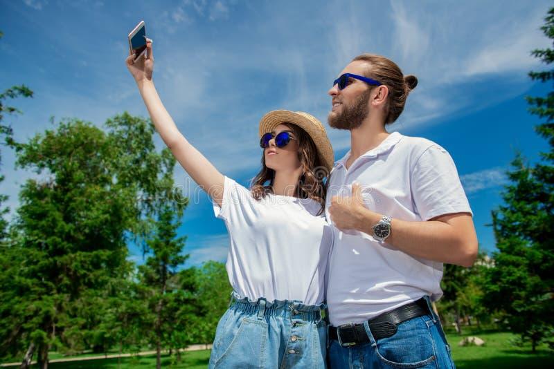Selfi for memory royalty free stock photos