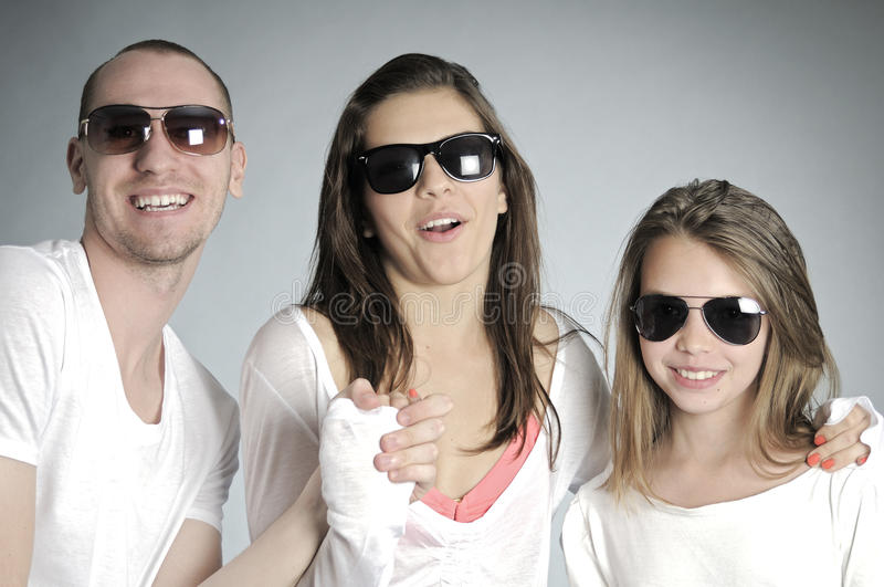 Download Happy young people smiling stock photo. Image of group - 20474098