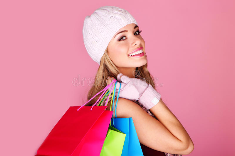 Happy Young Shopper