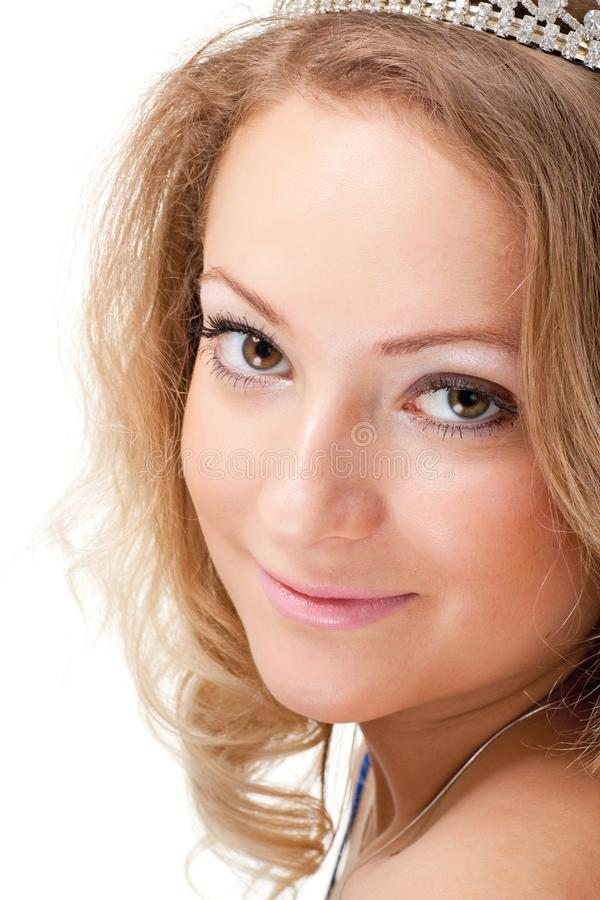 Download Happy young woman stock image. Image of young, pretty - 13543289