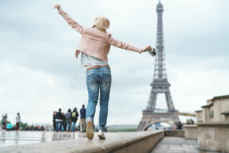 Download Young girl on vacation stock image. Image of beauty - 104765191