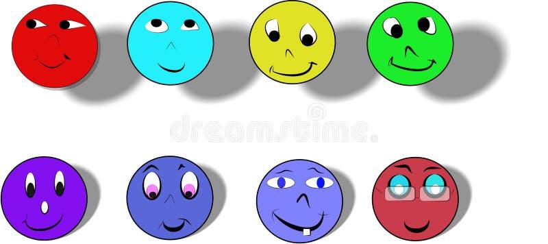 happyfaces ilustracji