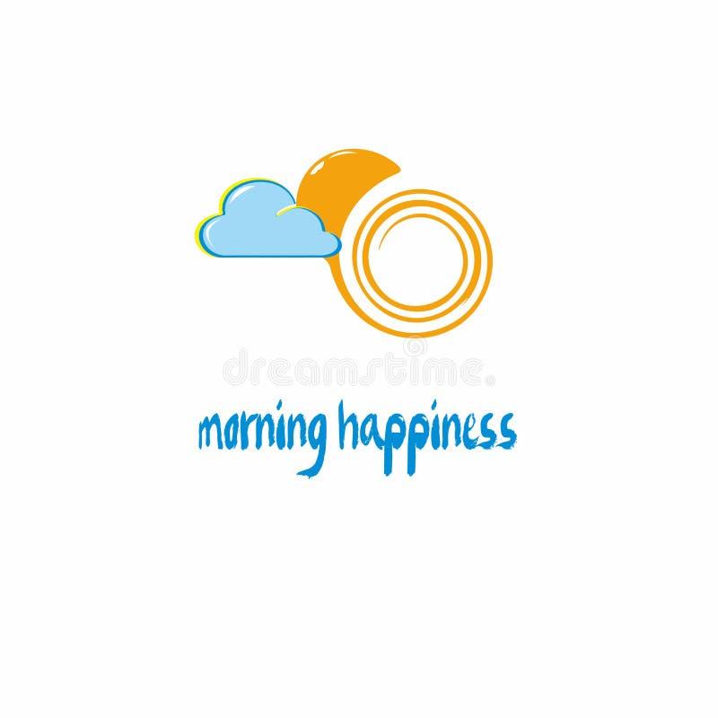 Happynes de matin illustration stock