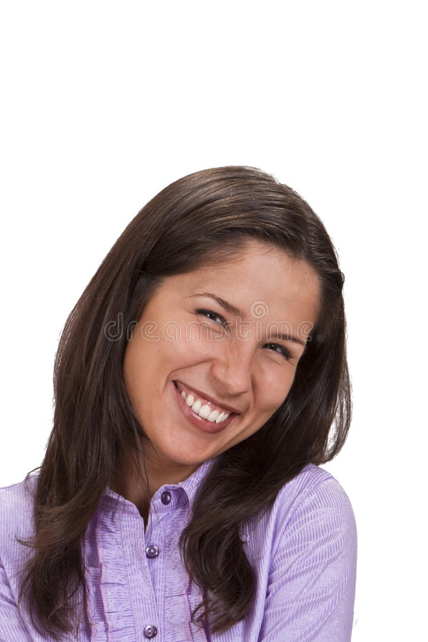 Download Haqppy woman stock photo. Image of mouth, attractive - 10968938