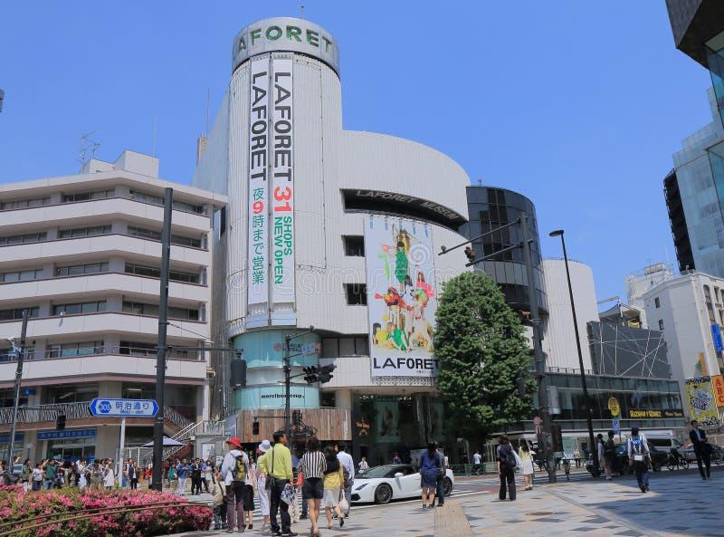 Harajuku som shoppar Tokyo Japan arkivbilder