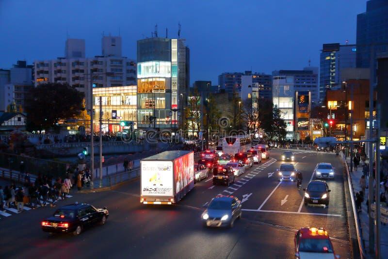Harajuku Tokio, Japón fotografía de archivo libre de regalías