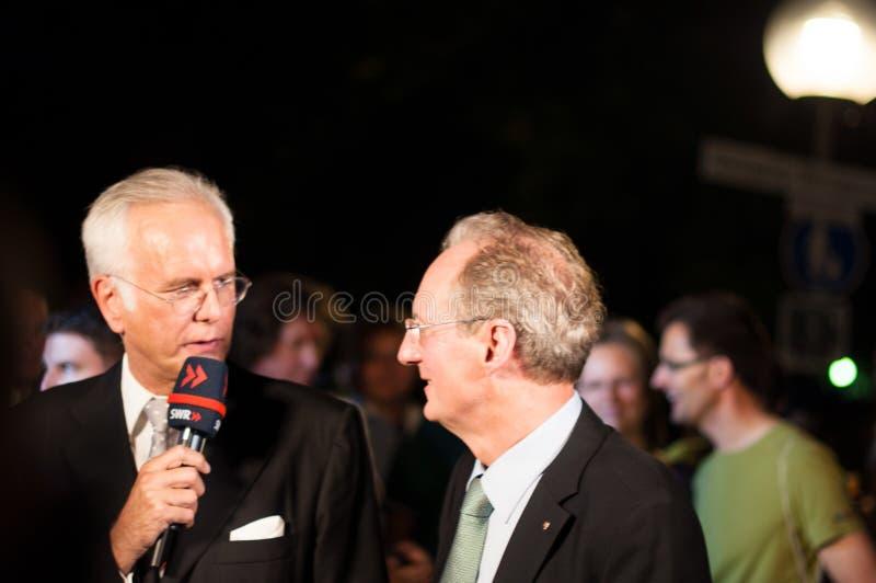 Download Harald Schmidt Interviews Wolfgang Schuster Editorial Image - Image: 25877765