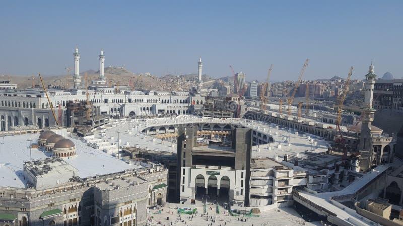 Haram de Makkah en Arabie Saoudite photographie stock