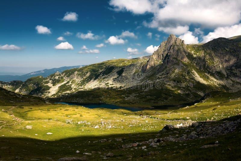 Haramiata di punta, montagna di Rila immagine stock libera da diritti