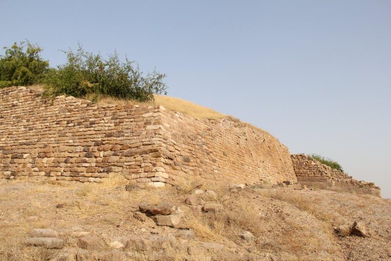 Harappa habitation at Dholavira stock photography