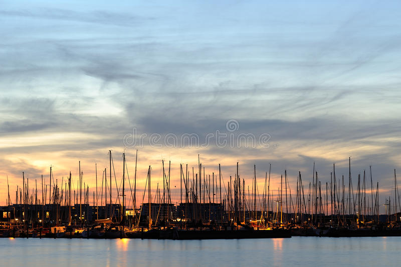 Download Harbor stock image. Image of pleasure, sail, vessel, deep - 20151161