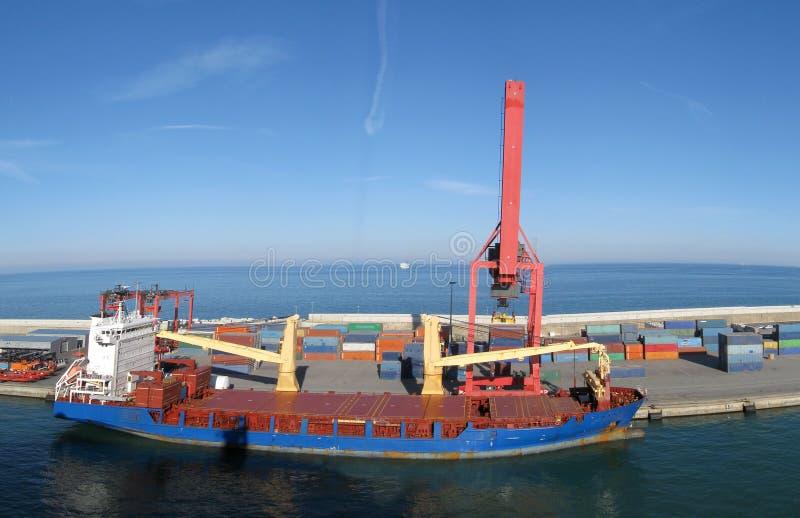Harbor stock image