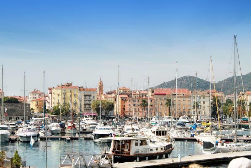 Ajaccio, Corsica royalty free stock photos