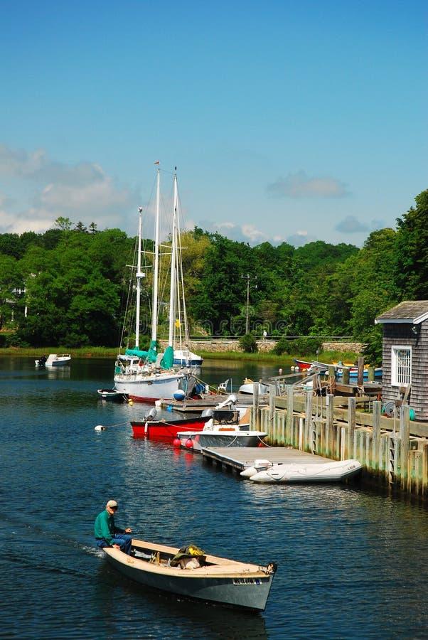 Harbor, Cape Cod stock photo