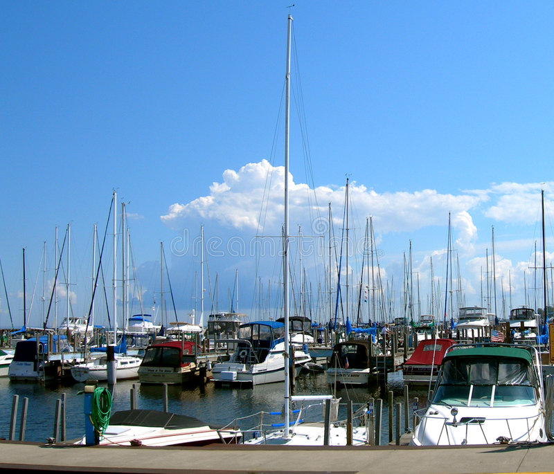 Harbor Days royalty free stock images