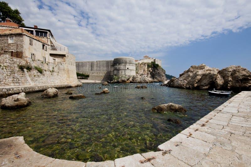Download Harbor of Dubrovnik stock image. Image of dubrovnik, surf - 25977475