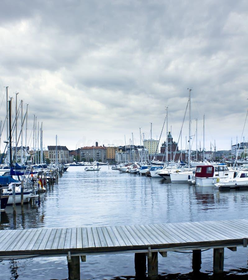 Harbor In Helsinki Royalty Free Stock Photo