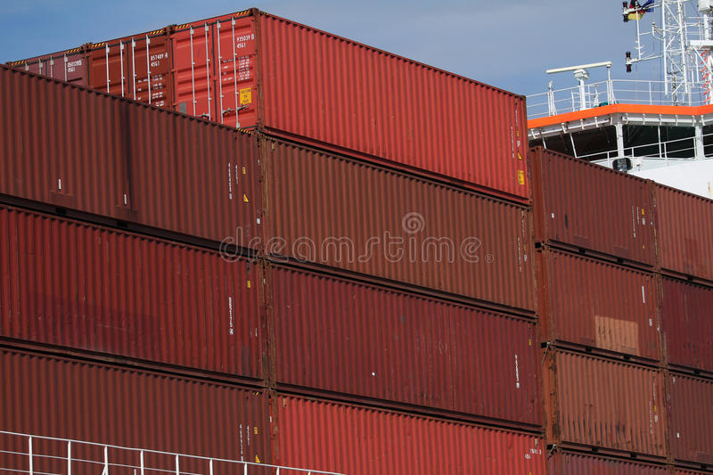 Harbor Industry 7 Royalty Free Stock Photography