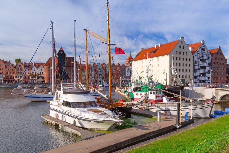 Download Harbor At Motlawa River In Gdansk Stock Images - Image: 35357204
