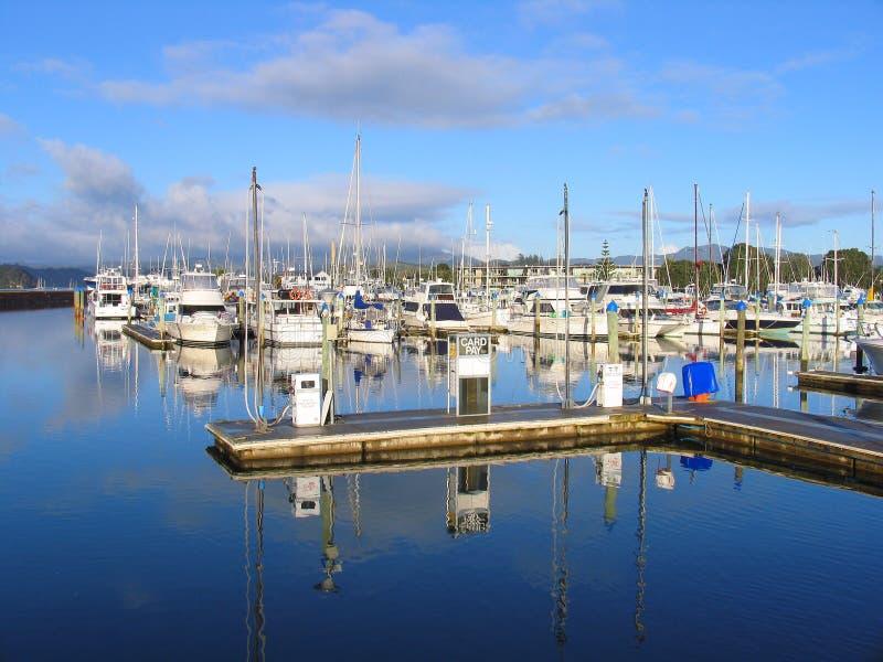 Harbor In New Zealand Stock Photography