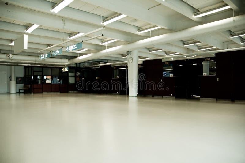 Harbor Terminal, Empty Royalty Free Stock Photography