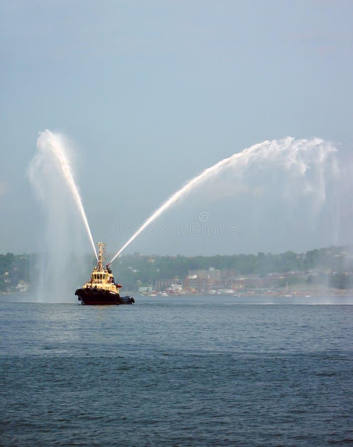 Harbor Tug Boat royalty free stock image
