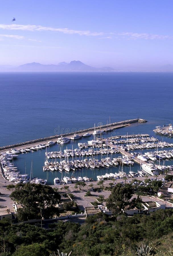 Harbor- Tunisia royalty free stock photo