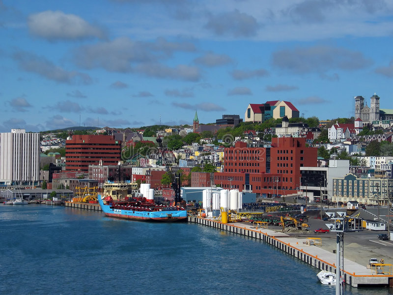 harborfront miasta. fotografia stock